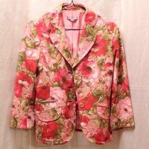 Ann Taylor floral blazer